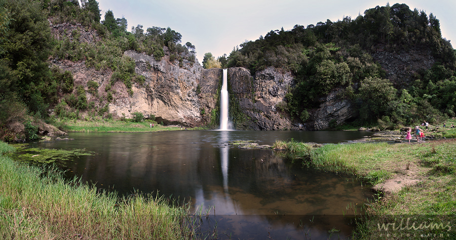 Hunua Falls Panoramic