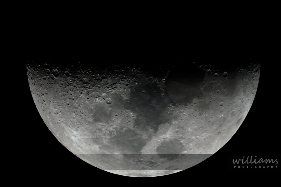 Moon with Telescope
