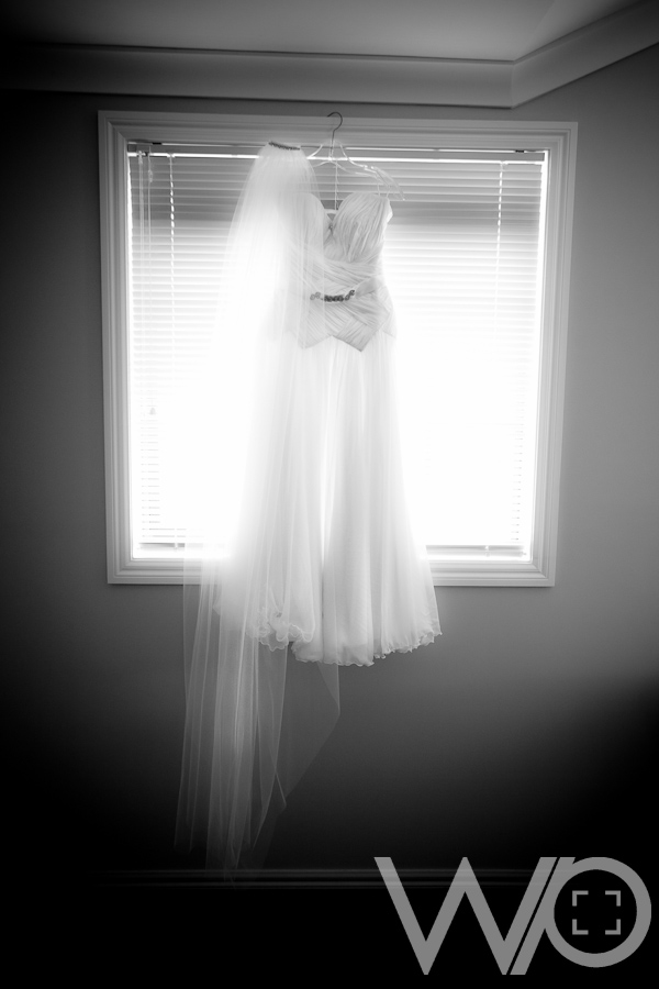 Auckland Wedding Photographers - Beautiful Bridal gown