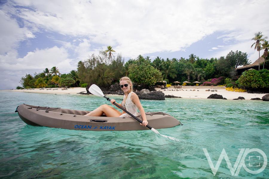 Kayak Aitutaki