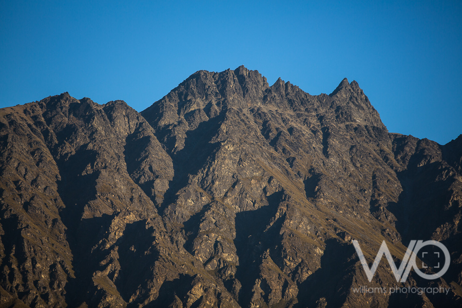 The Remarkables at sunset