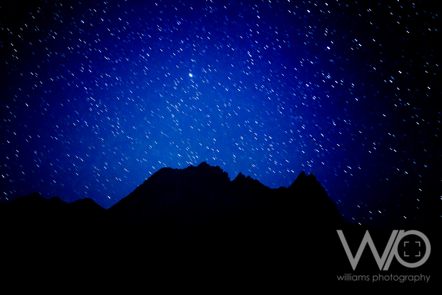 Stars over The Remarkables