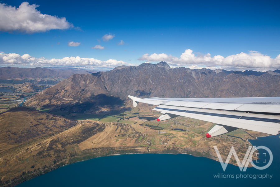 Flying in Queenstown