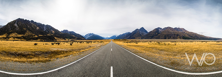 Mt Cook Road Panoramic