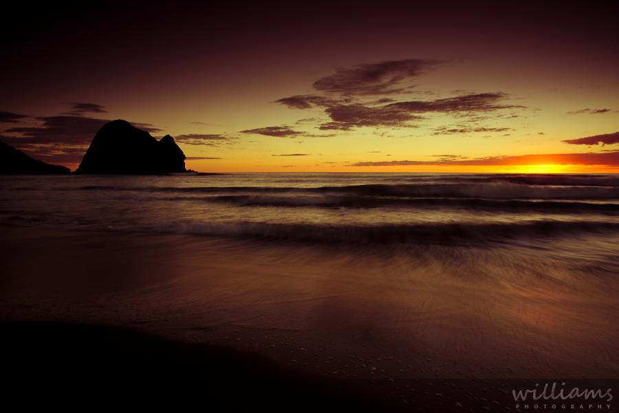 Classic Piha Sunset