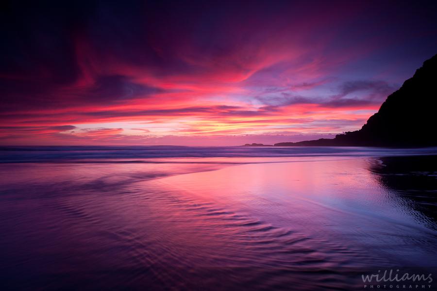 Red Sunset Karekare