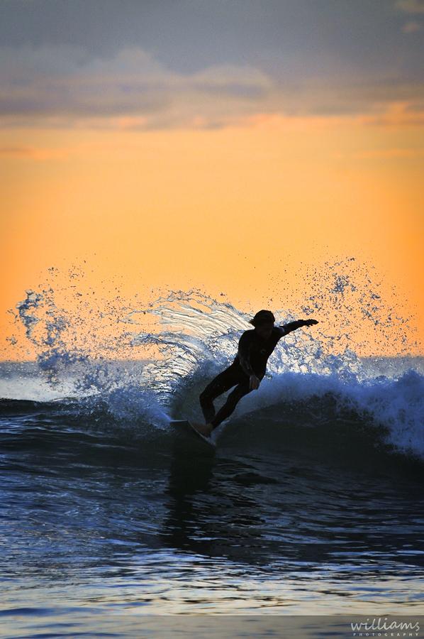 Awesome Piha surf photo
