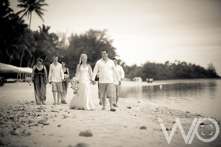 Pacific Resort Wedding Photos