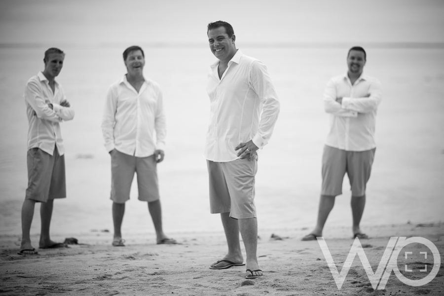 Bridal Party Muri Beach Rarotonga