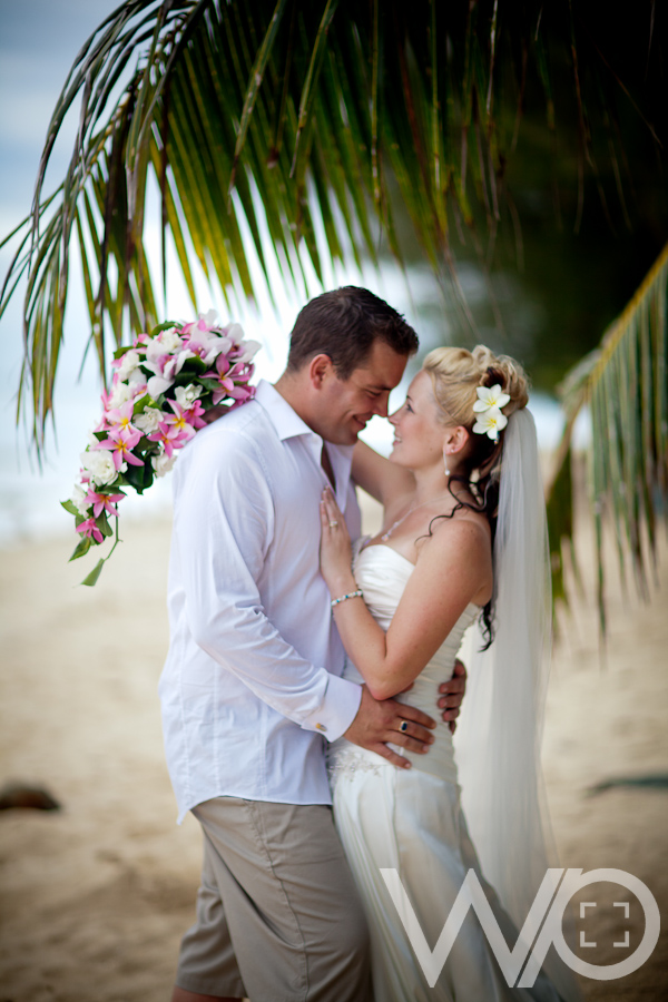 Rarotonga Wedding Photographer Muri beach