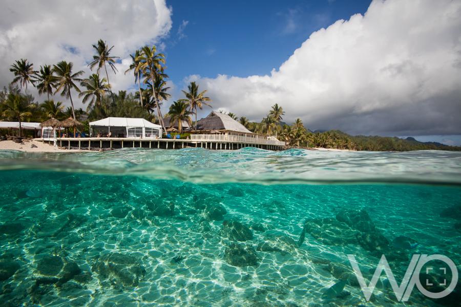 Beautiful underwater photo Rarotonga