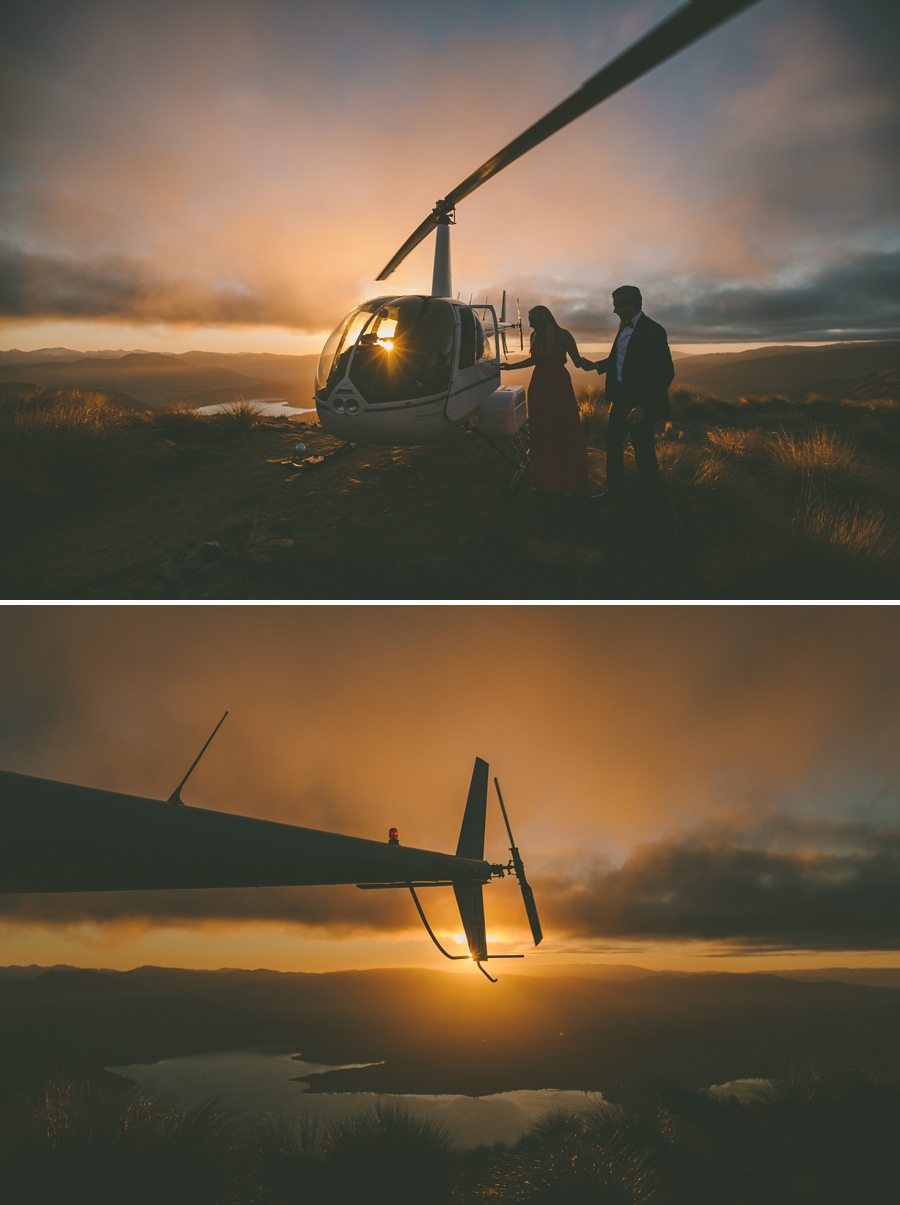 Wanaka Heli Wedding