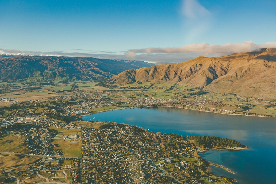 Wanaka Aerial Photo
