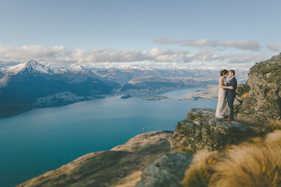 The Ledge Wedding Photos Queenstown