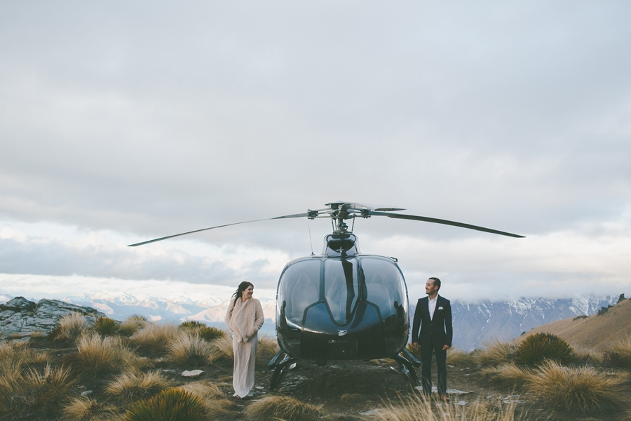 Queenstown Heli Wedding Photos