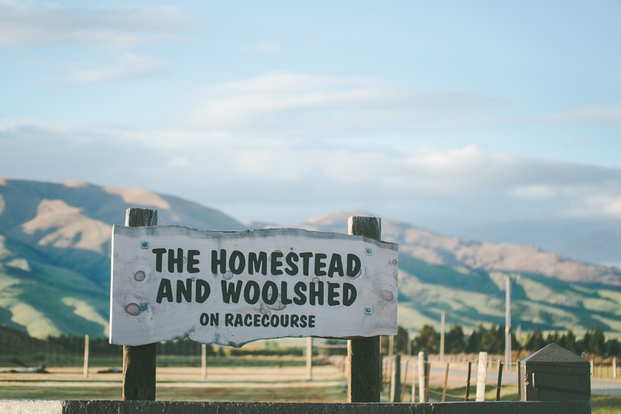 The Homstead and Woolshed on Racecourse