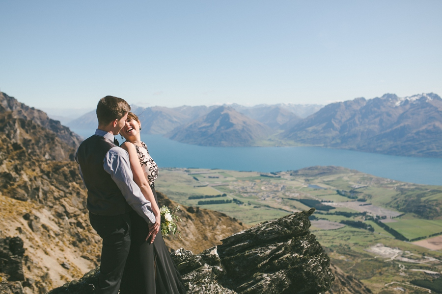Queenstown Elopement Wedding