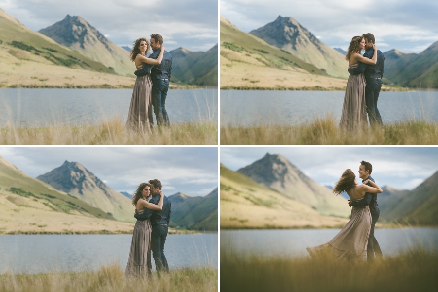 Moke Lake Queenstown Engagement