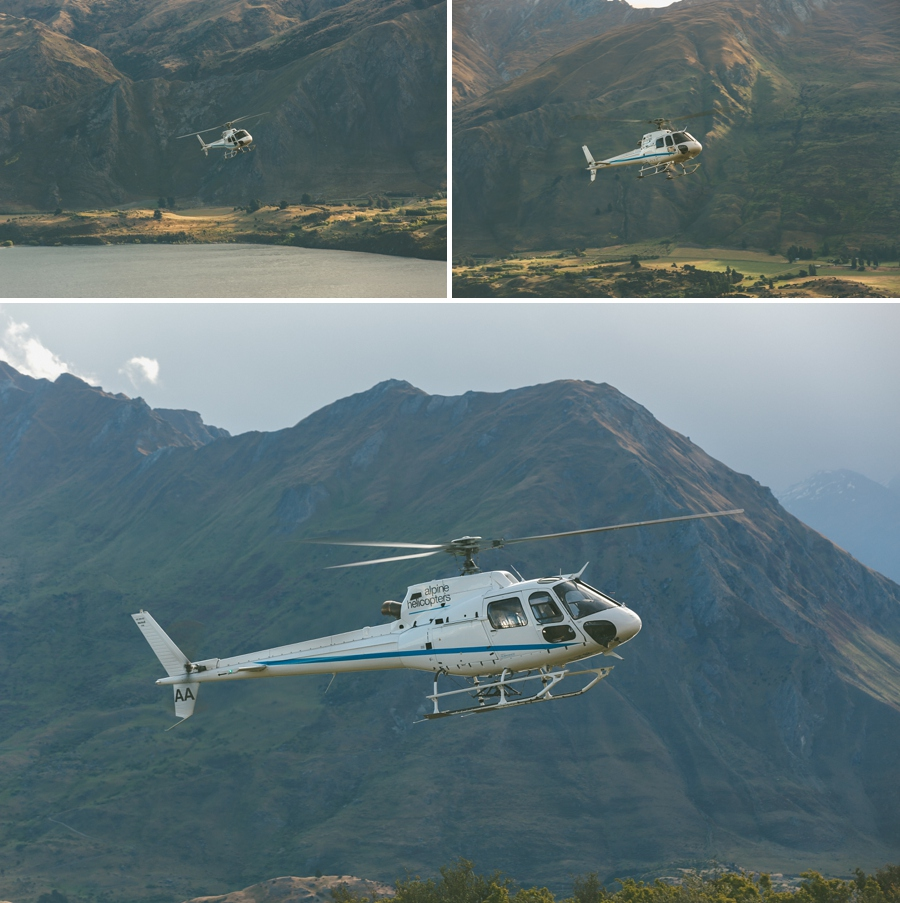 Alpine Helicopters Wanaka Wedding
