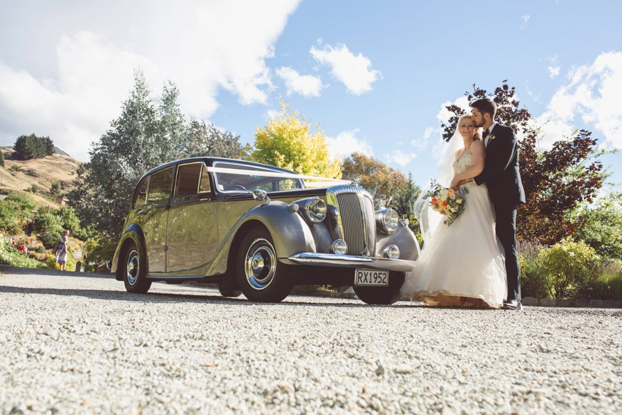 Queenstown Wedding Photographers Classic Car Journeys