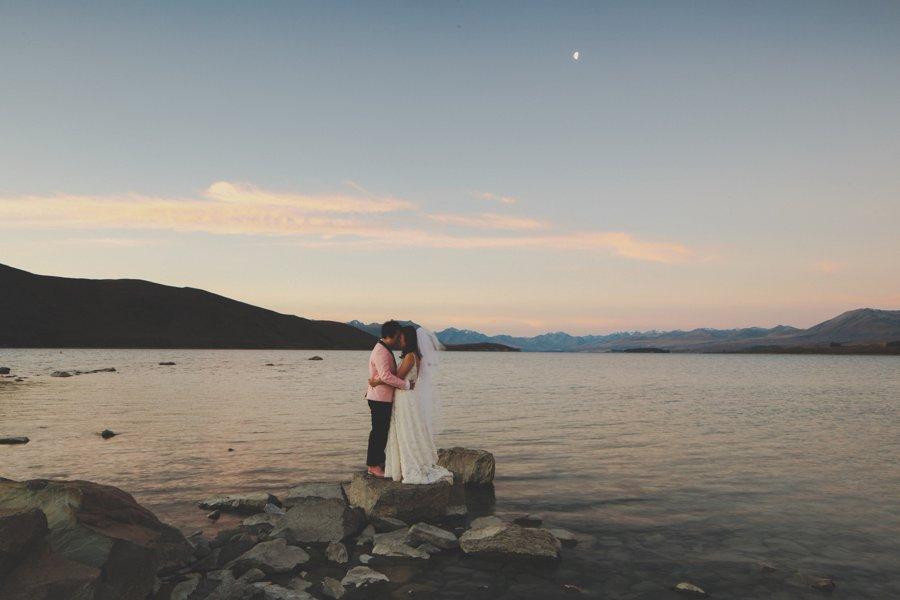 Lake Tekapo Wedding Photos