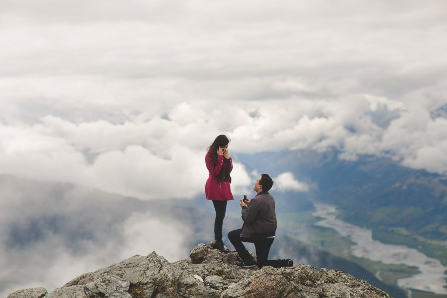 Queenstown Proposal Photos