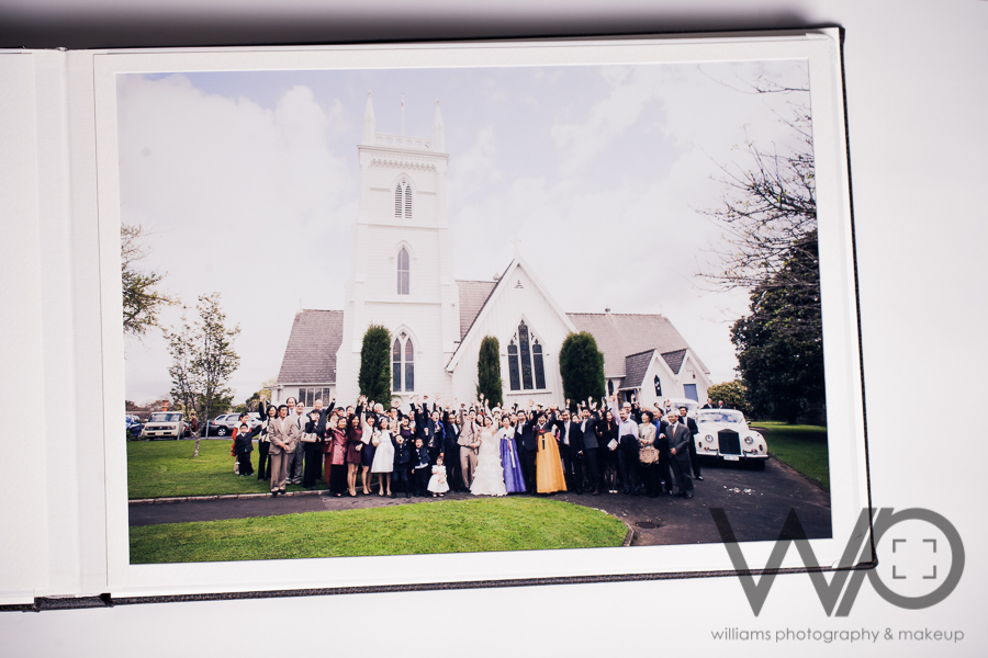 Auckland Wedding Photographers Queensberry Albums