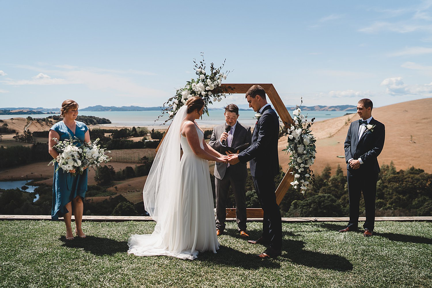 Kauri Bay Boomrock Wedding