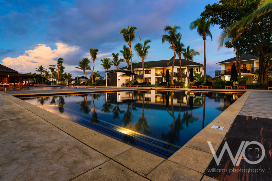 Dusk - Fiji Beach Resort & Spa managed by Hilton