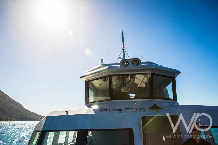 Milford Sound Cruise - Mitre Peak Cruises