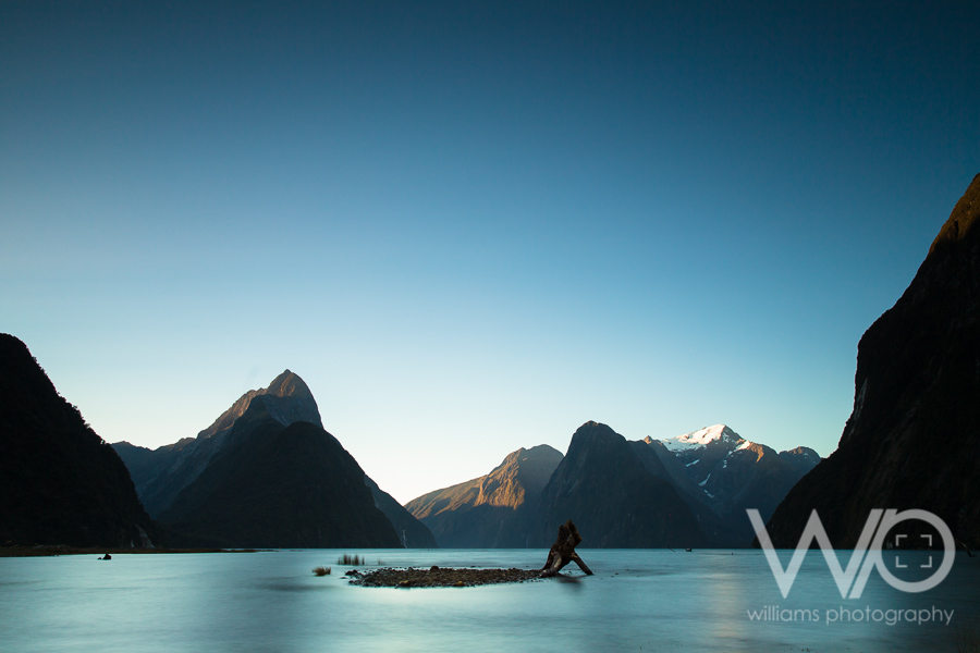 Milford Sound Sunset