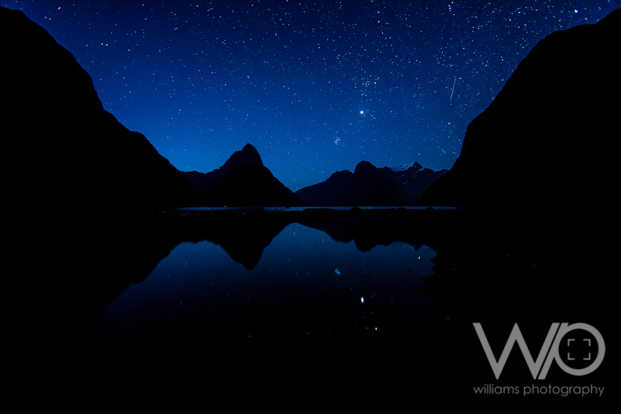 Milford Sound Milky Way