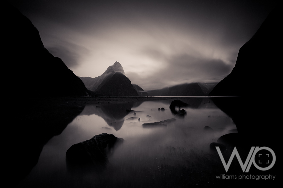 Sunrise Milford Sound