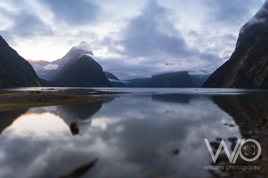 Milford Sound Tilt Shift