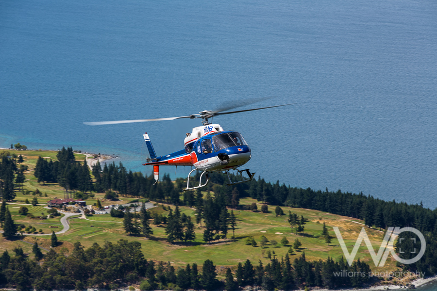 The Helicopter Line - Queenstown