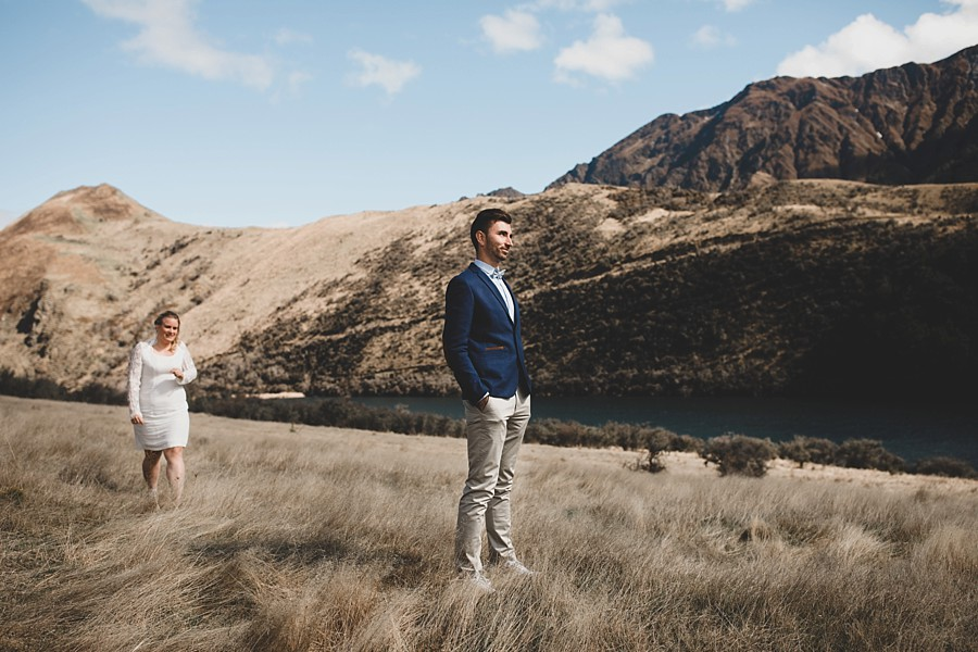 Queenstown Wedding Photographers Moke Lake