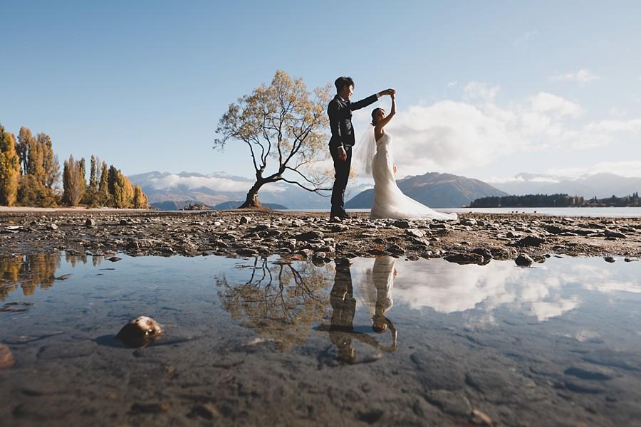New Zealand Pre-Wedding Photographer