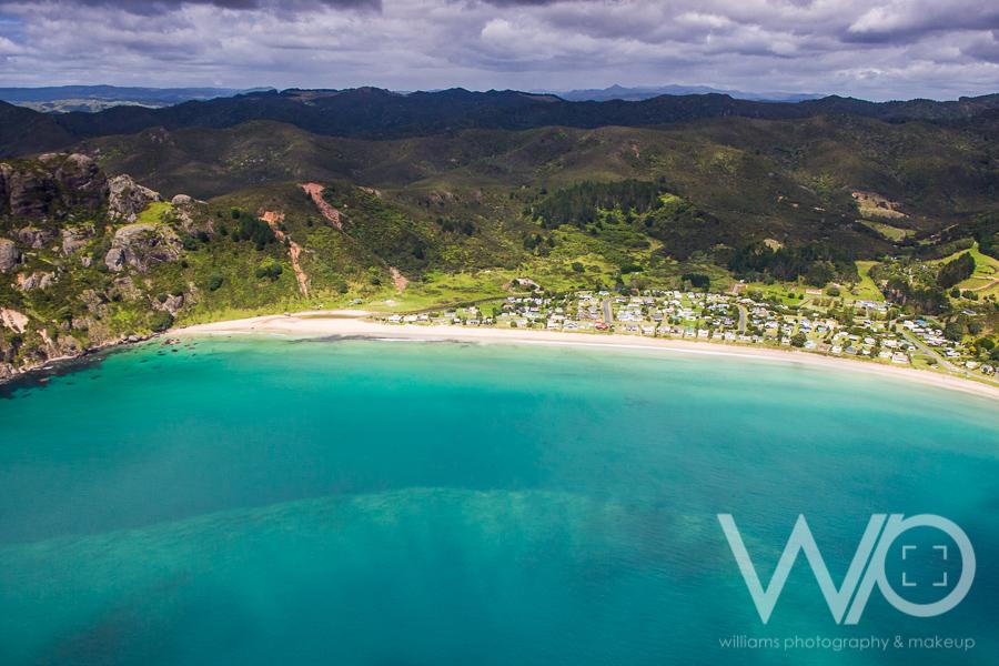 Taupo Bay aerial Photo