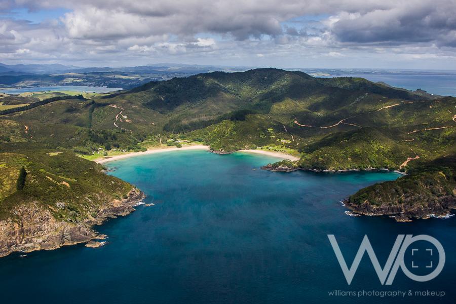 Taemaro Bay aerial photo