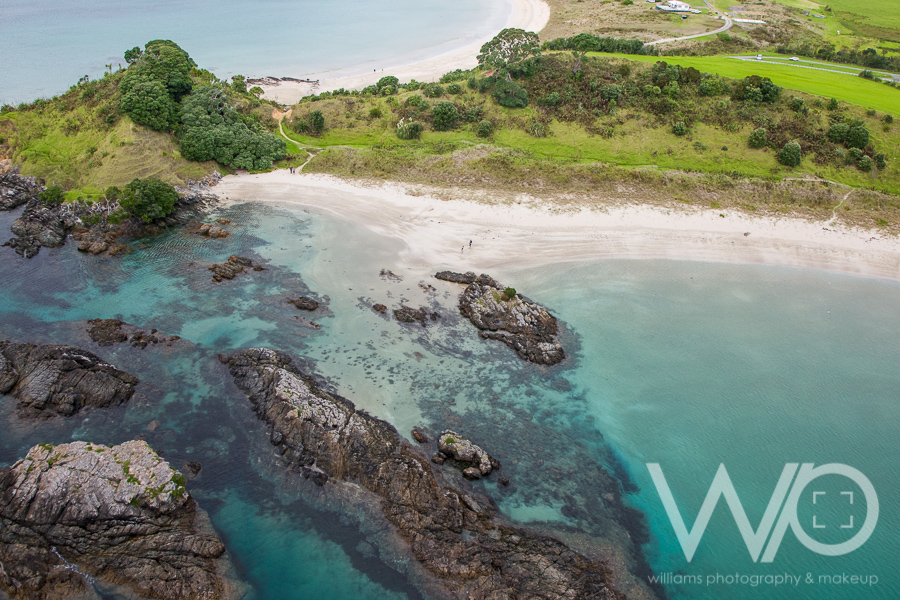 Matai Bay aerial photo