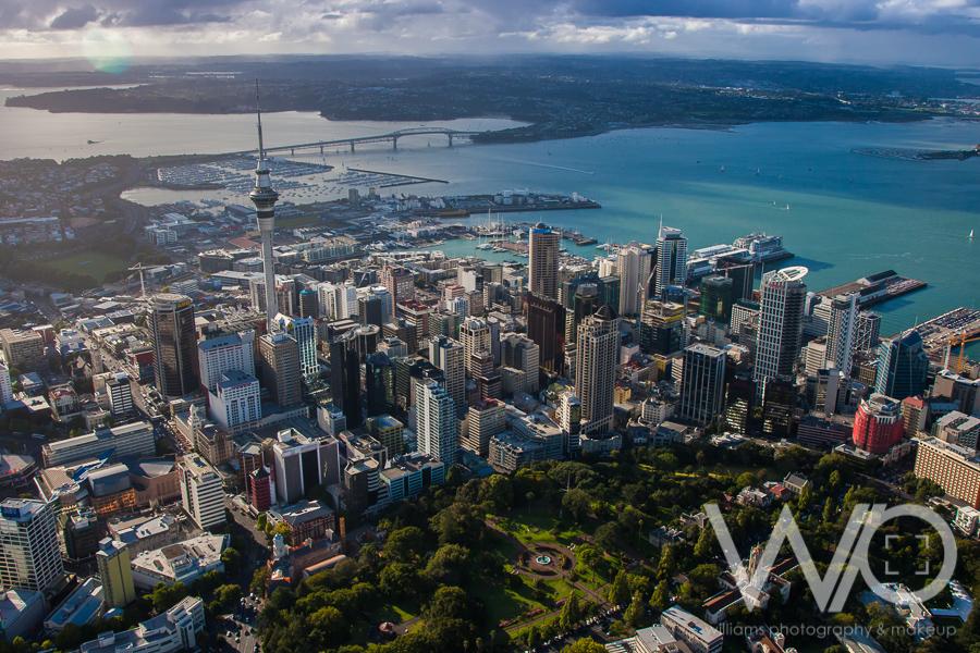 Auckland Aerial Photo