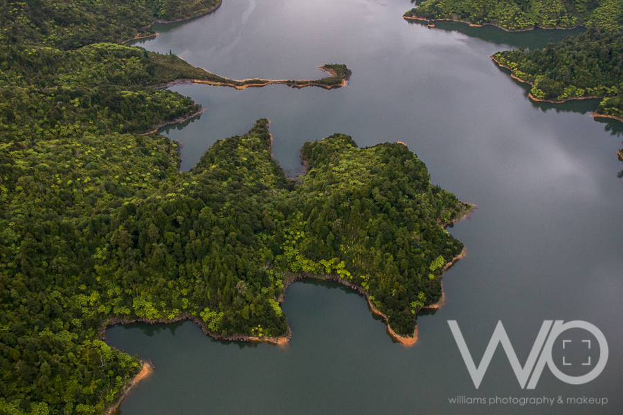Hunua Ranges aerial photo