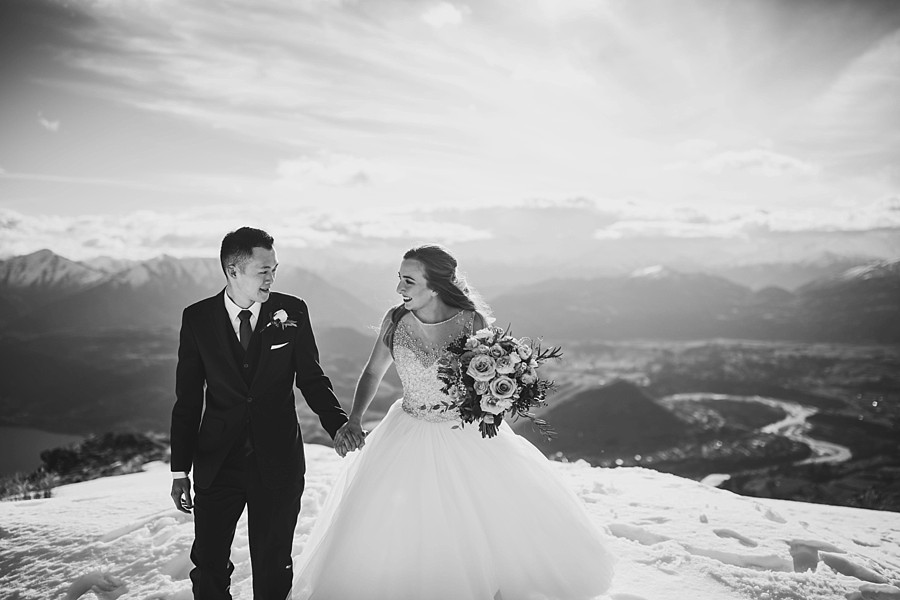 Queenstown Winter Wedding