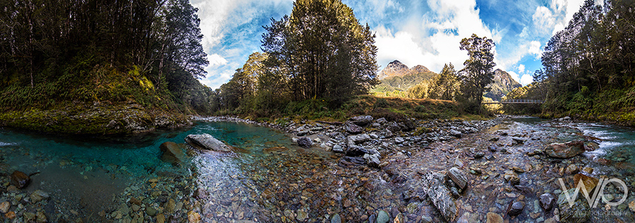 Routeburn Track panoramic