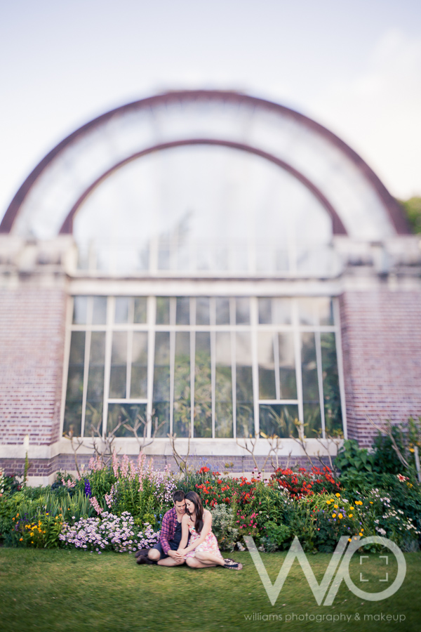 Auckland Engagement Photographer Winter Gardens