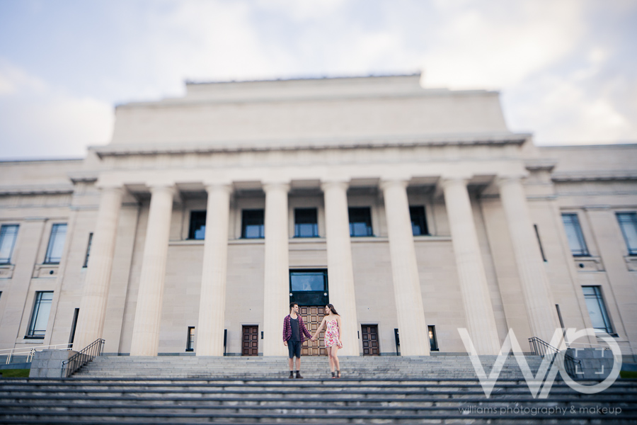 Auckland Engagement Photographer Auckland Museum