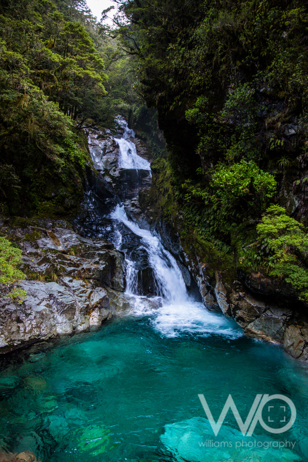 Waterfall Fiordland