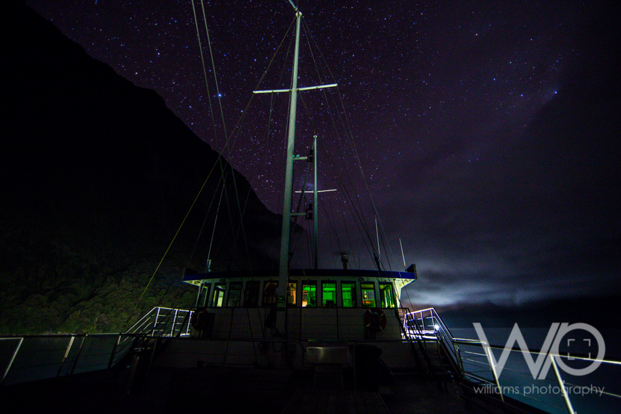 Milford Mariner Milford Sound overnight cruise