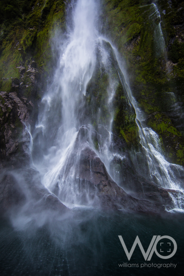 Stirling Falls Milford Sound