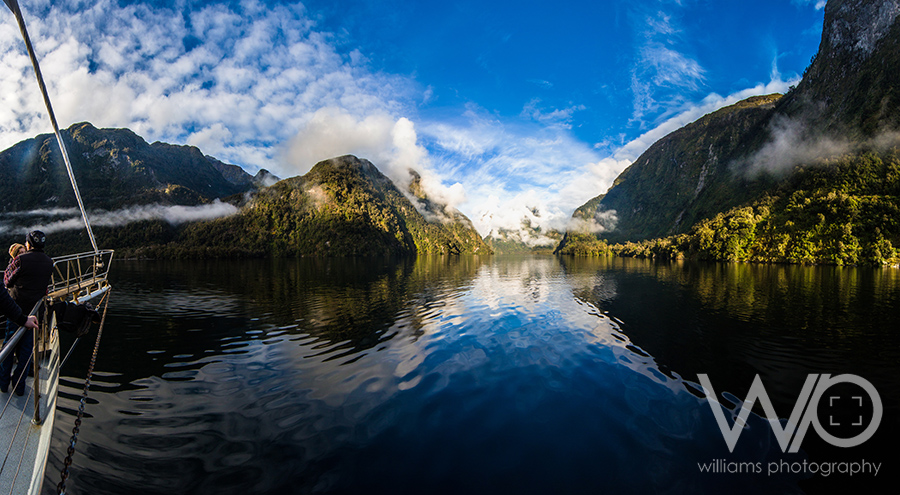 Calm view over Doubtful Sound